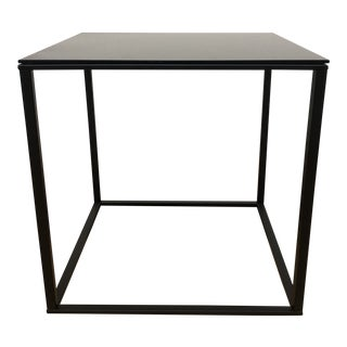 Blu Dot Minimalista Black Side Table For Sale