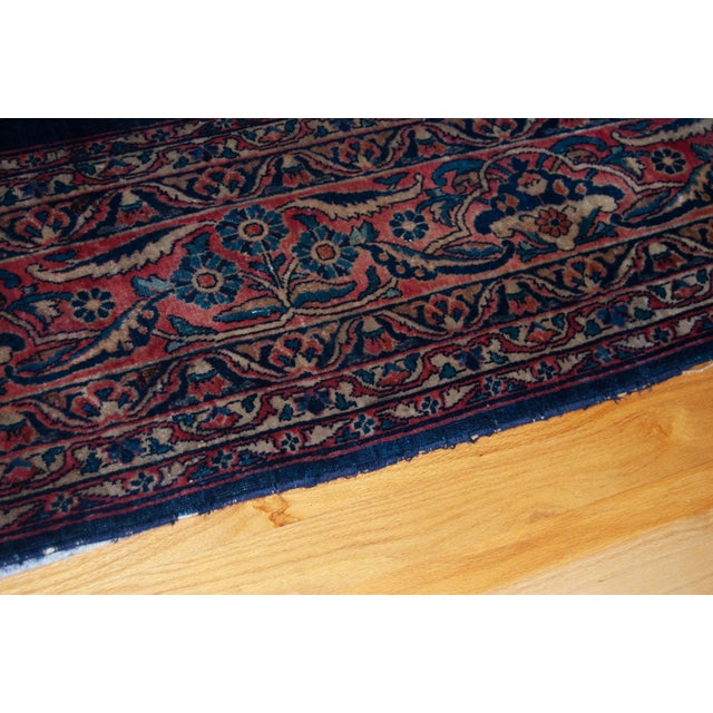 Antique Persian Hand Knotted Sarouk Wool Rug Chairish