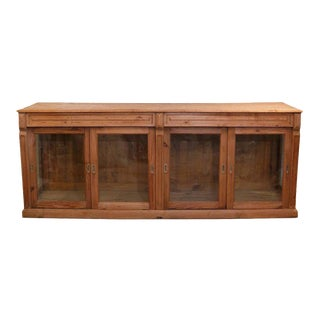 Belgian Stripped Pine Sideboard