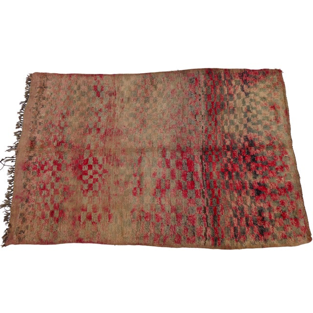 1990s Berber Rug For Sale - Image 5 of 5