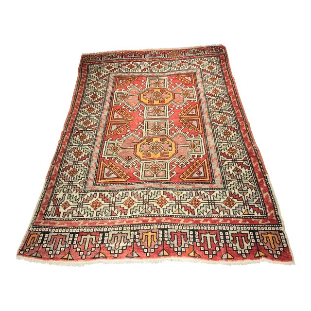 """Bellwether Rugs Vintage Turkish Oushak Small Area Rug - 4'4""""x6'6"""" - Image 1 of 11"""