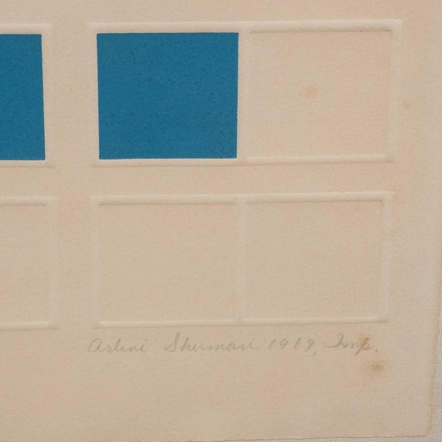 "Mid-Century Arlene Sherman ""Five of Six"" Lithograph Printed in Colors, 1969 - Image 2 of 8"