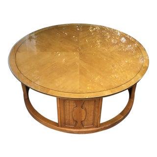 1960s Mid-Century Modern John Van Koert for Drexel Meridian Round Coffee Table For Sale