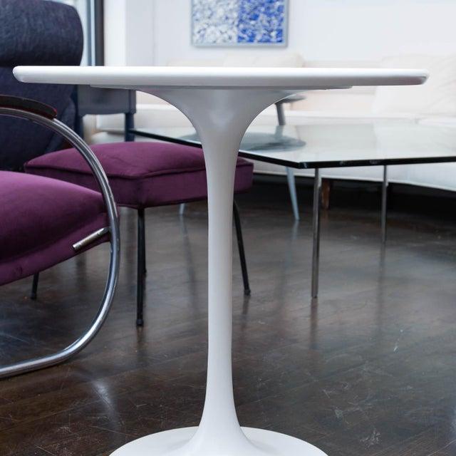 Saarinen Style Tulip Side Table - Image 2 of 5