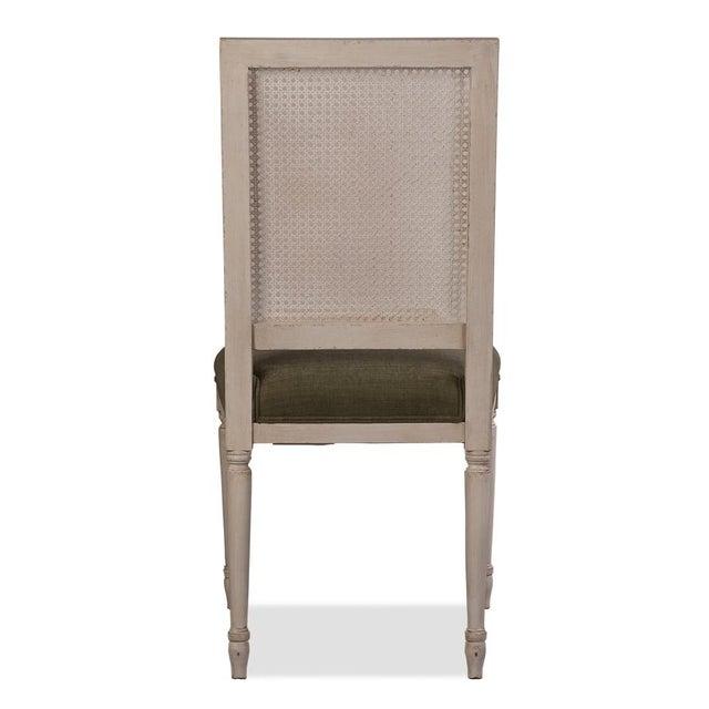 Sarreid Ltd Adams Cane Back Beechwood Dining Chairs- A Pair - Image 5 of 6
