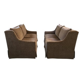 """Transitional Wesley Hall """"Emerson"""" Sofas - a Pair For Sale"""