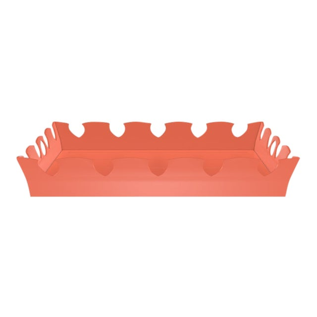 Oomph Ocean Drive Outdoor Tray, Orange For Sale