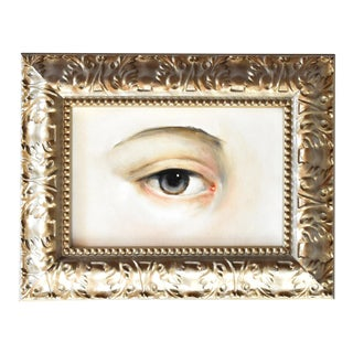 Contemporary Lover's Eye Oil Painting by Susannah Carson For Sale