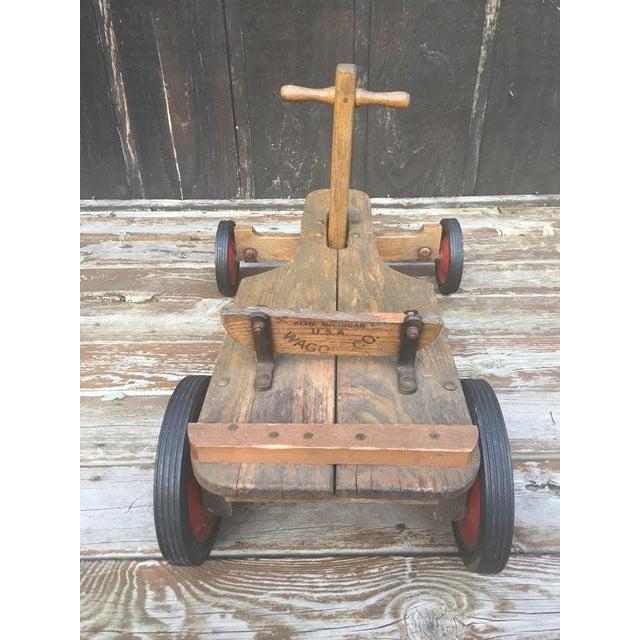 Metal Irish Mail Cart For Sale - Image 7 of 11