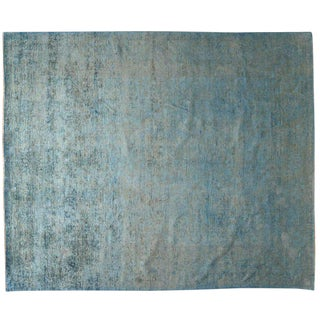 Silky Pakistani Collection Rug - 9′ × 12′ For Sale