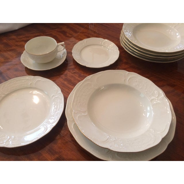 Gold Rosenthal Fine China Dinnerware For Sale - Image 8 of 8