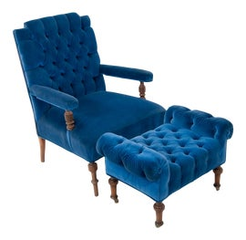 Image of Man Cave Chair and Ottoman Sets