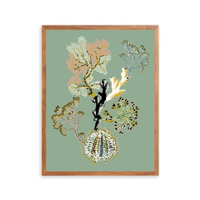 This print is exclusive to Chairish. All giclée prints are digitally recreated from scanned original hand paintings by...
