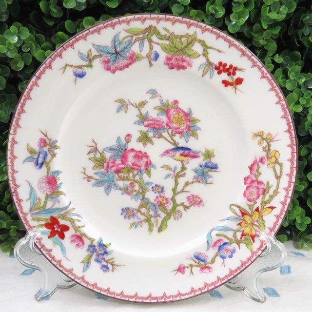 Vintage Mismatched Fine China Dinner Plates - Set of 4 - Image 8 of 10