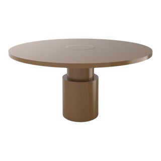 Contemporary 100C Dining Table by Orphan Work, 2020, Brown For Sale