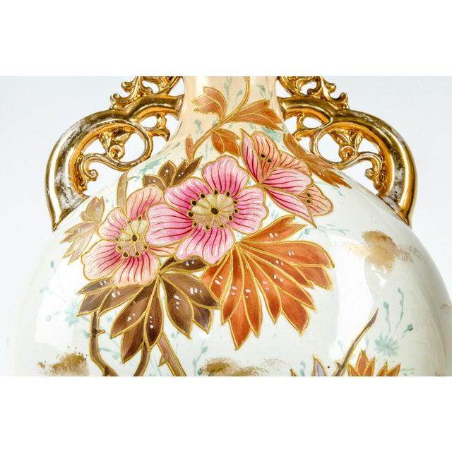 Antique Pair German Porcelain Pieces For Sale - Image 4 of 8