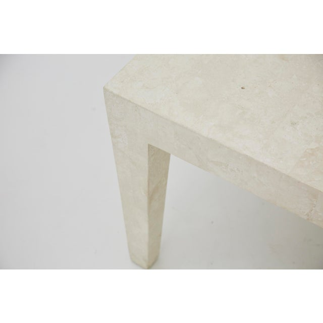 S Vintage PostModern Tessellated Stone Coffee Table Chairish - Post modern coffee table