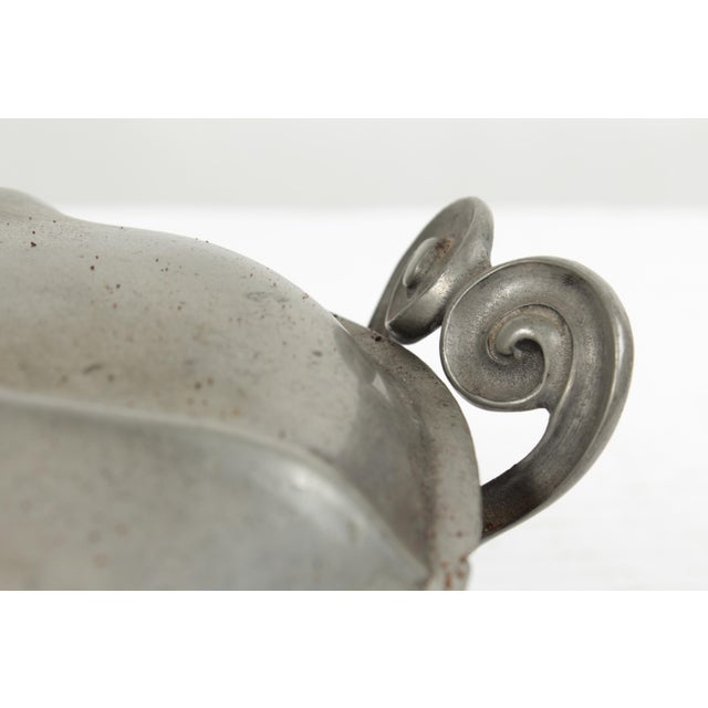 Antique Pewter Tureen For Sale - Image 5 of 8