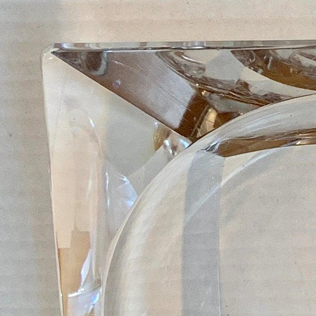 Modern French Modern Crystal Cigar Ashtray For Sale - Image 3 of 12