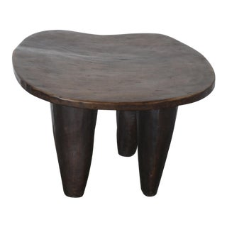 Senufo Modern Wood Stool From Africa For Sale