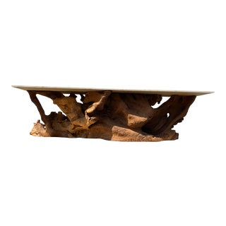 Jacaranda Teak Root Dining/Console Table For Sale