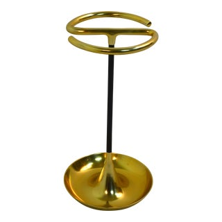 Bungalow 5 Pinyon Brass Umbrella Stand For Sale