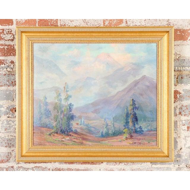 Martella Cone Lane -California Landscape -Oil Painting -Impressionist c.1920s Biography Martella Cone Lane (1875 - 1962)...