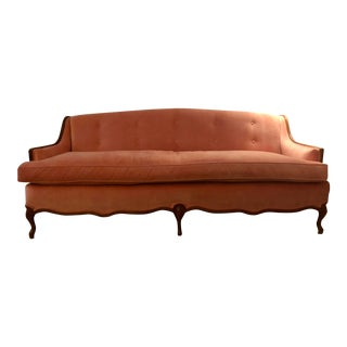 Vintage Mid-Century Louis the XV Sofa For Sale
