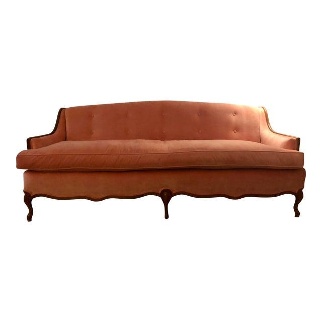 Vintage Mid-Century Louis the XV Sofa For Sale
