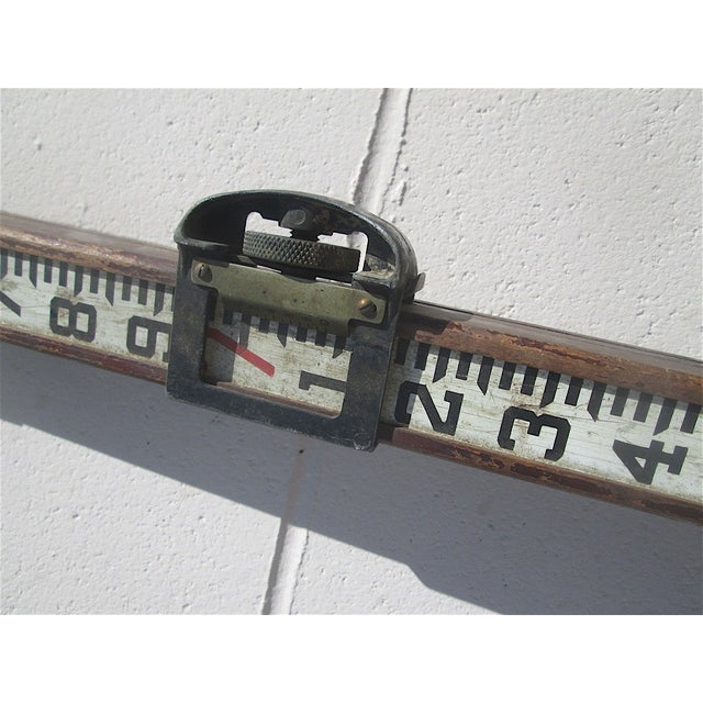 Antique Surveyor's Stick For Sale In Cincinnati - Image 6 of 6