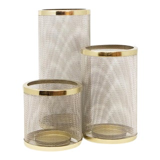 AURA LONDON Meze Candle Holders - Set of 3 For Sale