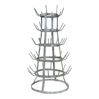 French Bottle Drying Rack For Sale