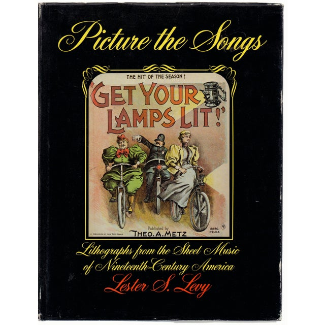 Paper Vintage Picture the Songs With Lithographs Hardcover Book For Sale - Image 7 of 7