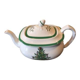 Spode Christmas Teapot For Sale