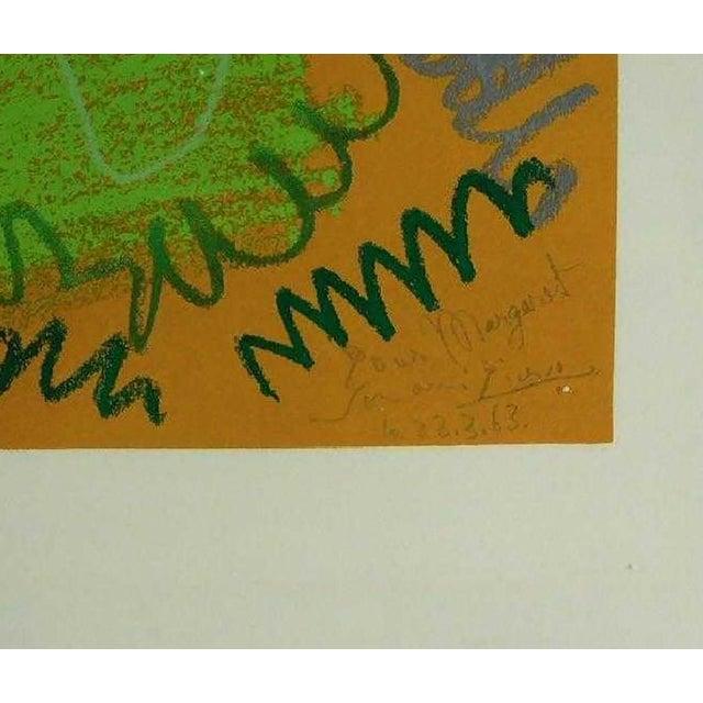 The School of Paris Pablo Picasso Pour Margaret For Sale - Image 3 of 5