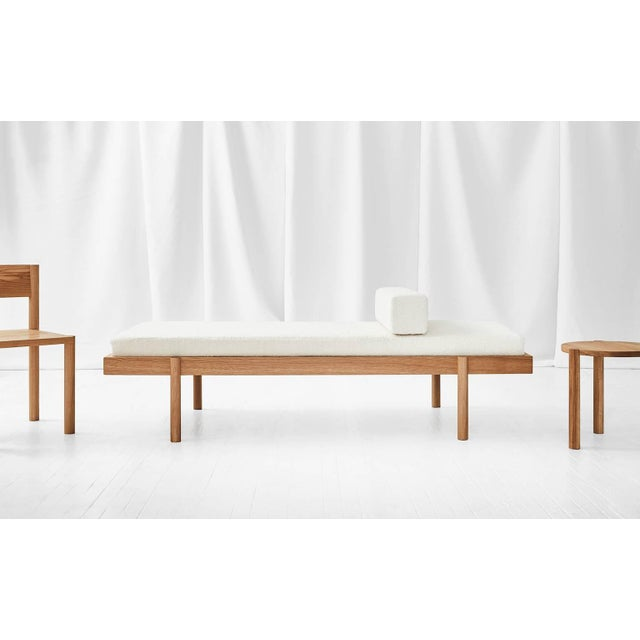 Wood Wc2 Daybed by Ash Nyc in White Oak For Sale - Image 7 of 10