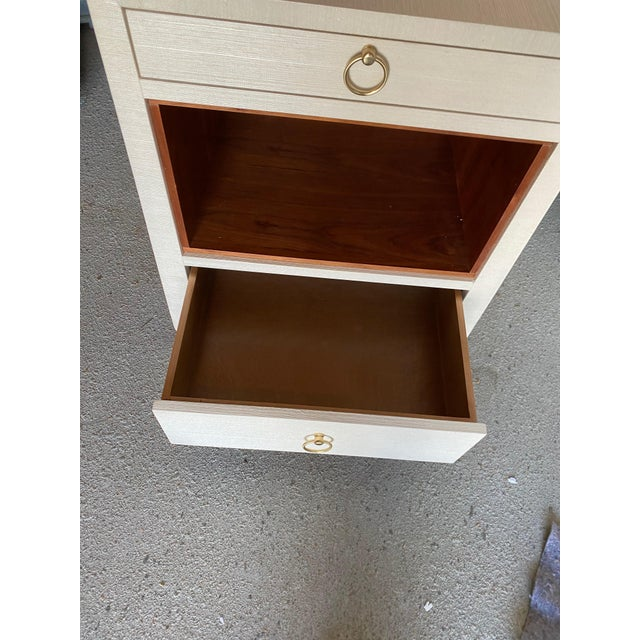 Bungalow 5 Ming White 2 Drawer Nighstand For Sale In New York - Image 6 of 11