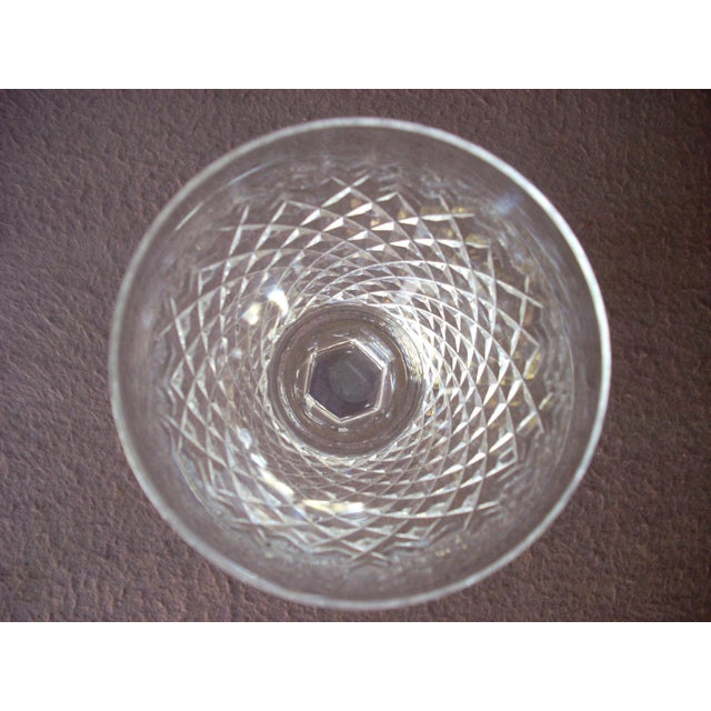 Traditional Waterford White Wine Crystal Goblets - Set of 8 For Sale - Image 3 of 5