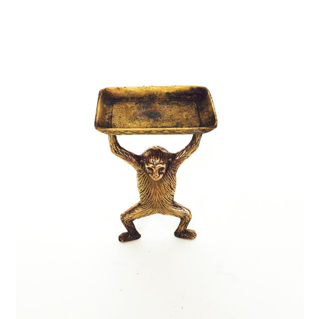 Vintage Brass Monkey Dish - Image 3 of 5