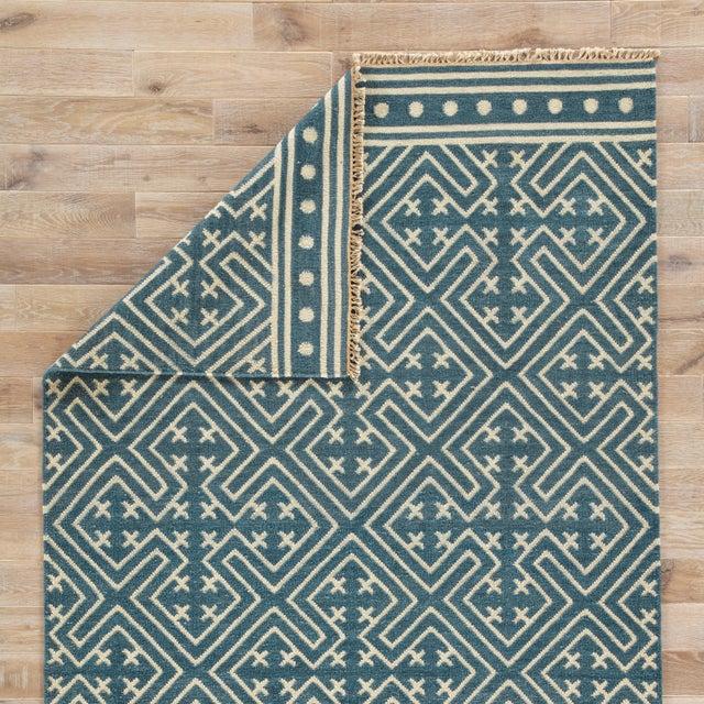 Jaipur Living Lahu Handmade Geometric Area Rug - 10′ × 14′ For Sale - Image 4 of 6