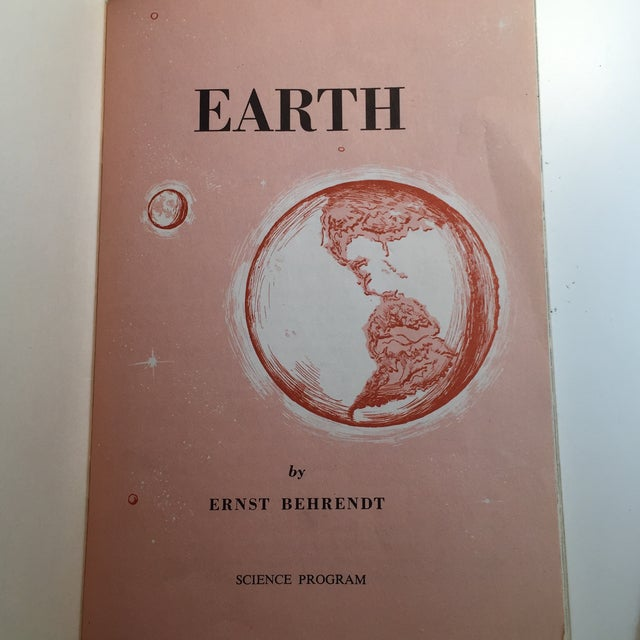 1967 Earth and Moon Science Service Books - Set of 2 For Sale - Image 9 of 11