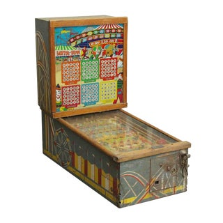 Vintage Lotta Fun Arcade Pinball Machine For Sale