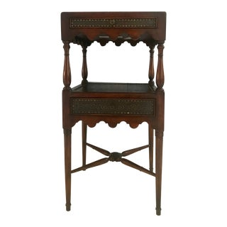 Regency Theodor Alexander Accent Square End Table For Sale