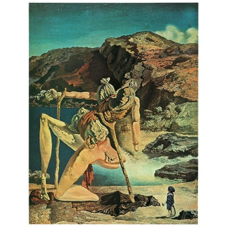 "1957 Salvador Dalí ""Spectre De La Libido"" Large Period Parisian Lithograph For Sale"