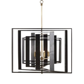 7 Layer Spiral Rivoli Chandelier For Sale