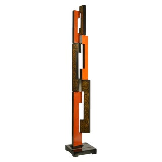 Mid Century Modern Skyscraper Sculpture For Sale