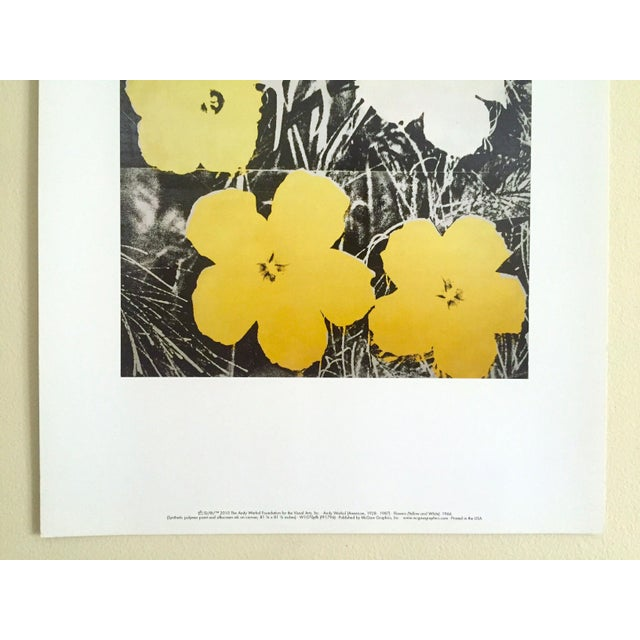 "Andy Warhol Andy Warhol Foundation Collector's Pop Art Lithograph Print ""Flowers"" 1966 For Sale - Image 4 of 10"