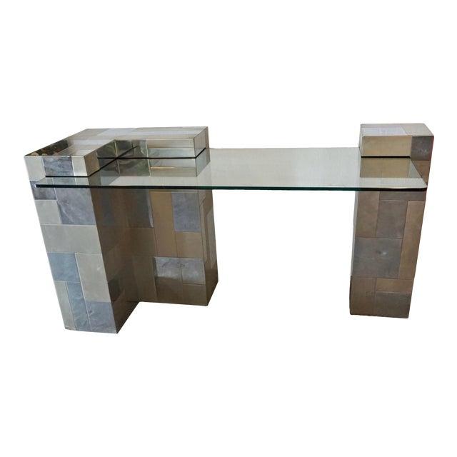 """Paul Evans """"Cityscape"""" Desk or Console For Sale"""