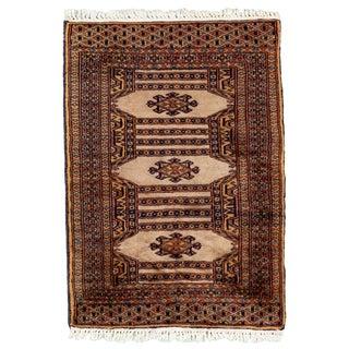 "Vintage Persian Rug, 2'01"" X 3'00"""