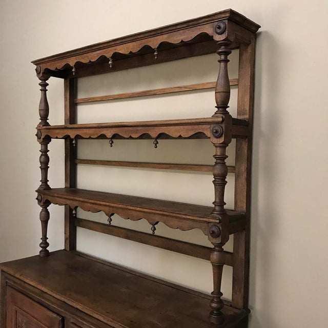 19th Century Italian Rustic Country Vaisselier For Sale - Image 4 of 11
